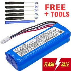 Аккумулятор 6000 мАч bateria GSP1029102A для JBL Charge 3 (пожалуйста, дважды проверьте место 2 красных проводов на старом аккумуляторе)