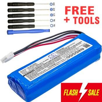 6000mAh Batterie bateria GSP1029102A für JBL Ladung 3 (pls überprüfen sie die ort der 2 roten drähte auf ihre alte batterie)