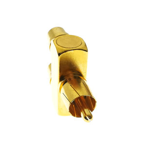 Image 4 - 1PCS 1 RCA TO 2 RCA Copper Gold Plated AV Audio Video Splitter Plug Adapter 1 Male to 2 Female Converter Connector