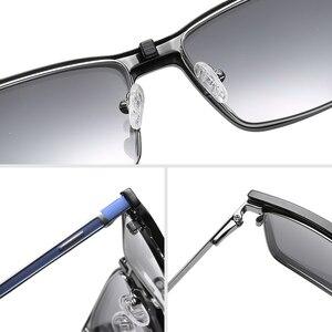 Image 5 - 処方2で1マグネットクリップメガネフレーム男性光学偏光サングラス近視度眼鏡フレーム男性ブランド2020