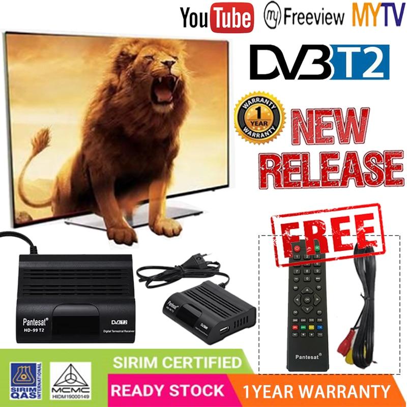 DVB HD-99 T2 Tuner Dvb T2 Vga TV Dvb-t2 For Monitor Adapter USB2.0 Tuner Receiver Satellite Decoder Dvbt2 Russian Manual