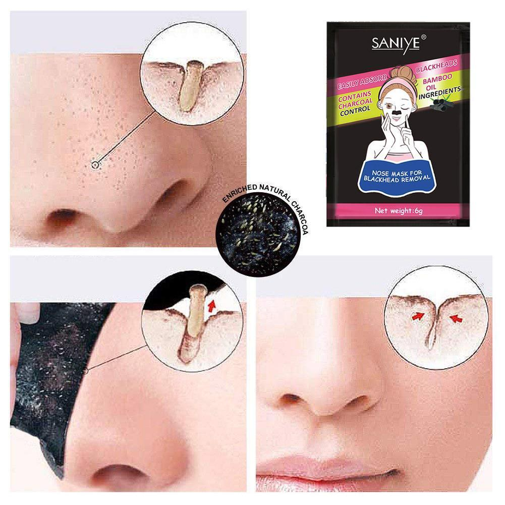 Remover Blackhead Peelable Nasal Membrane Nose Strips Sticker Acne Head Deep Cleaner Pore Face Cleansing Black I1F6
