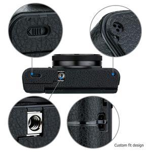 Image 4 - Anti kras Camera Body Cover Protector Lederen Textuur Sticker Beschermende Huid Film Kit Voor Sony RX100 Mark Vii Vi va V Iv Iii