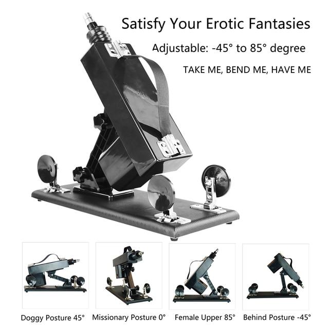Sex Maschine Automatisch mit Dildo Pump Pistole Sex Produkte Spielzeug für Erwachsene 4