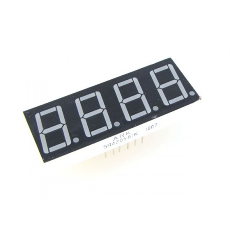 "10pcs LED Display 0.28/0.36/0.4/0.56 Inch 7 Segment 4Bit Common Cathode / Anode Display 4 Digital 0.28"" 0.36"" 0.4"" 0.56"" Display"