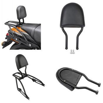 Motorcycle Black Passenger Backrest Sissy Bar For Harley Street 500 750 XG500 XG750 15-18 2015-2018 16 17