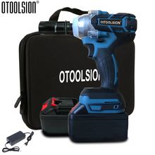 21V 320N.m Brushless Cordless Wrench 3000mAh Electric Impact Wrench Lithium Battery Wrench Power Tools Hand Drill For DIY Home