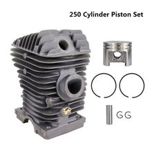 цена на 1pc 42.5mm Diameter Cylinder And Piston Set For STIHL Chainsaw 250 Gasoline Chainsaw Parts