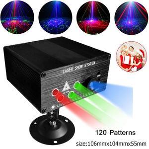 Image 2 - RGB เลเซอร์โปรเจคเตอร์ Light Disco Ball Party ไฟ Strobe Light RGB ไฟ LED Stage สำหรับคริสต์มาสหน้าแรก KTV Xmas งานแต่งงานแสดง