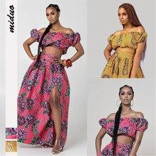 Dashiki African Dresses For Women Clothes Long Dress Ankara Clothing 2019