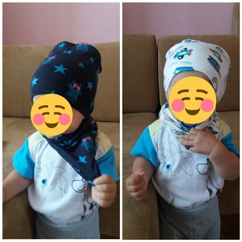 baby boys girls cap scarf