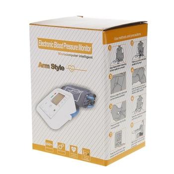 Tonometer Arm Automatic Blood Pressure Monitor BP Sphygmomanometer Pressure Meter Tonometer for Measuring Arterial Pressure 6