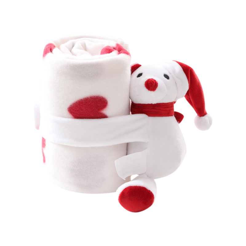 Born Baby Soft Warm Blankets Christmas Cartoon Bedding Sleeping Swaddle Comfort Stroller Wrap  Est New