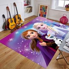 Carpets Rugs Decorative Door-Mat Bedroom Playmat Kitchen Kids Cartoon Anna Crafts Muduo