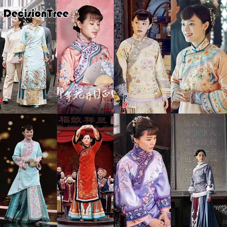 2020 Nothing Gold Can Stay Costume Chinese Style Costume For Tv Play Empress Emperor Traditional Hanfu Wedding For Couple