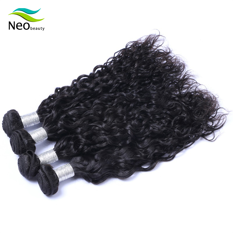 Neobeauty Burmese Virgin Hair Natural Wave Hair Bundles Hair Extension