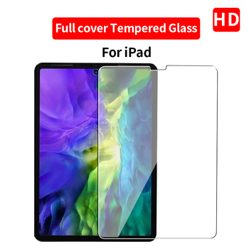 Tempered glass For iPad 2017 2018 9.7 10.2 mini 5 Screen Protector For ipad pro 11 7 Air 4 3 2 1 2020 10.5 Protective Film Glass