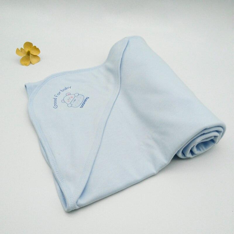 Хлопковое детское одеяло для новорожденных, пеленание, банное полотенце, детское мягкое теплое шерстяное одеяло для сна, Пеленальное постельное белье, пляжное полотенце s - Цвет: Cotton  79X77 CM