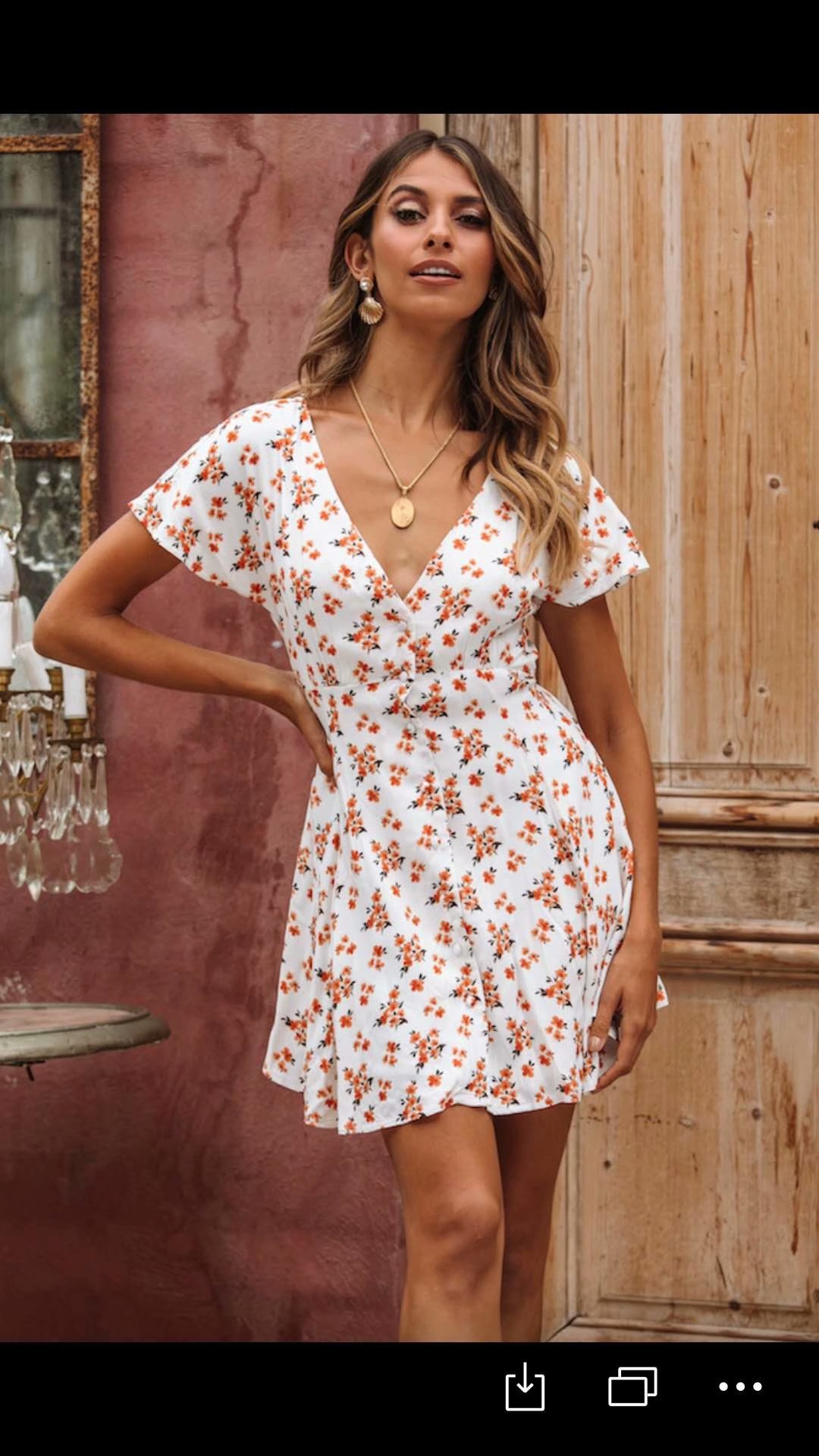 2020 New Spring Summer European Printed Female Dress Zaraing Vadiming Sheining WOMEN Dress Streetwear S486