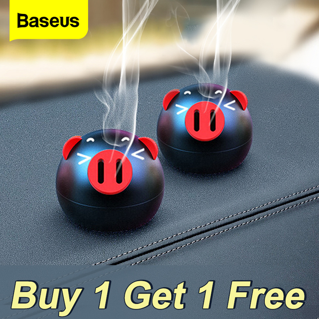 Creative Cute Car Air Freshener For Dashboard Auto Air Outlet Aromatherapy Car Diffuser Solid Perfume Flavoring 2pcs 1