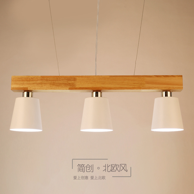 Modern Lampen Industrieel Pendant Lights Wood Bedroom  Living Room   Restaurant  Hanging Lamp Hanging Ceiling Lamps