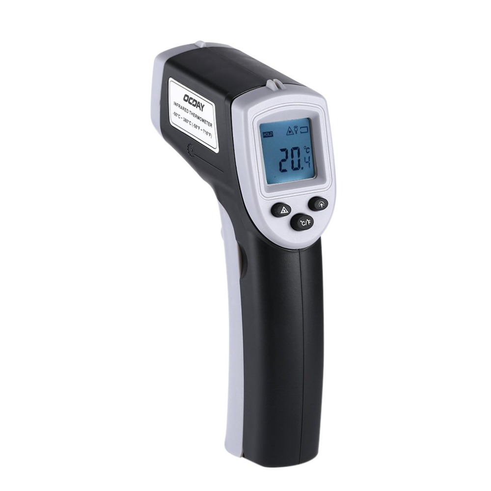 Infrared Non-Contact Laser Thermometer For Kitchen Cooking BBQ Auto Industrial Accuracy Reading Backlit LCD Display Thermograph