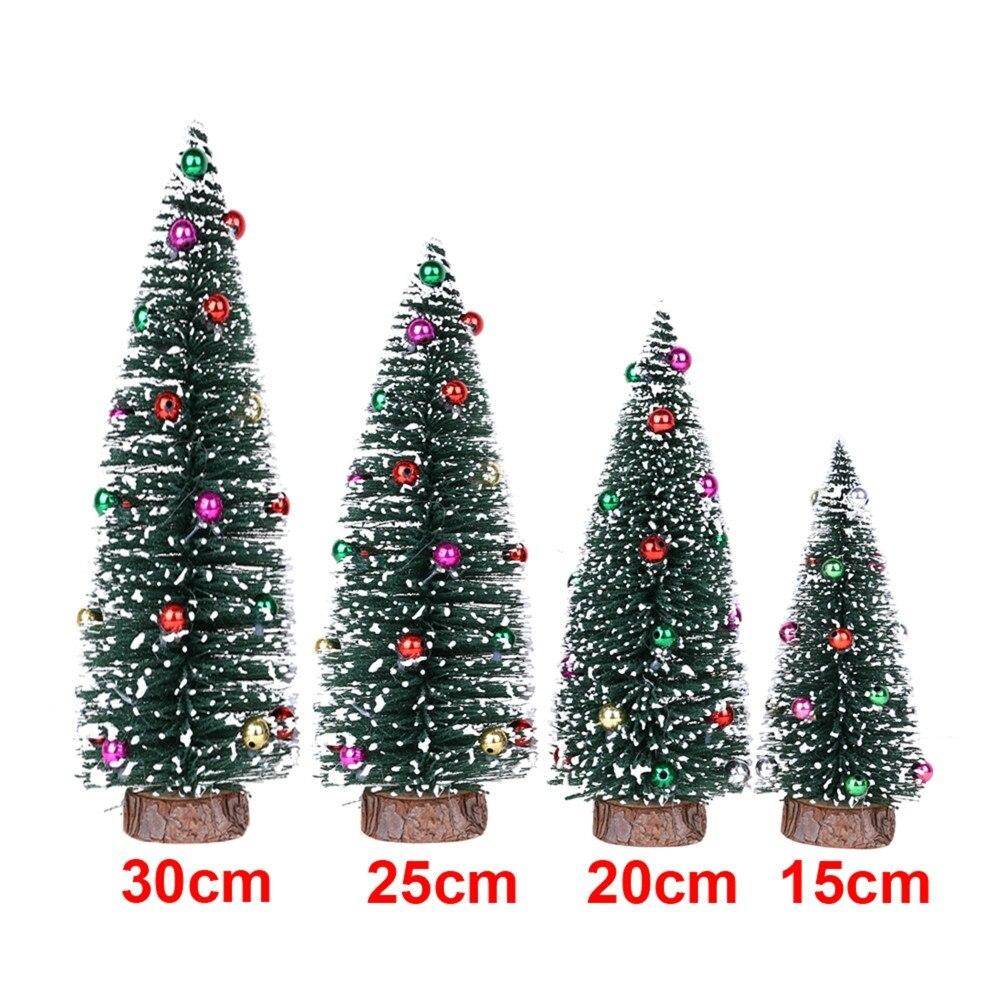 1 шт. 30/25/20/15 см, аксессуары для украшения дома, искусственная Настольная мини-елка, украшения для рождественской елки, миниатюрная елка # p7