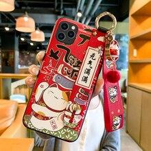 טלפון מקרה עבור Huawei P20 P30 P40 Mate 10 20 30 לייט פרו כבוד 8X 9 10 20 30Pro רך בחזרה מכסה 3D הבלטה מקרי טלפון שרוך