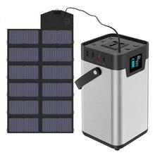 200Wh/54000mAh Portable Power Station 110V 220V AC Power