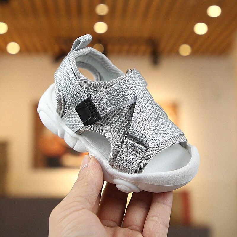Shoes Baby Gril Sandles Kids Toddler First Walkers Babies First Walking Step Beach Garden High Quality Newborn Summer Crib Flat