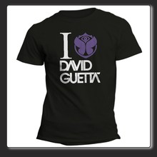 T-Shirt Unisex I love Guetta festival Boom Belgium Tomorrow(China)