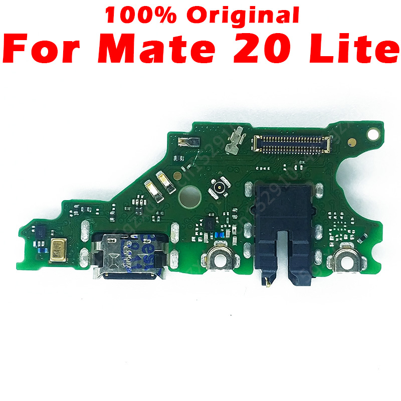 Original Charging Board For Huawei Mate 20 Lite USB Charging Port On Mate 20 Lite PCB Dork Connector Flex Cable Spare Parts