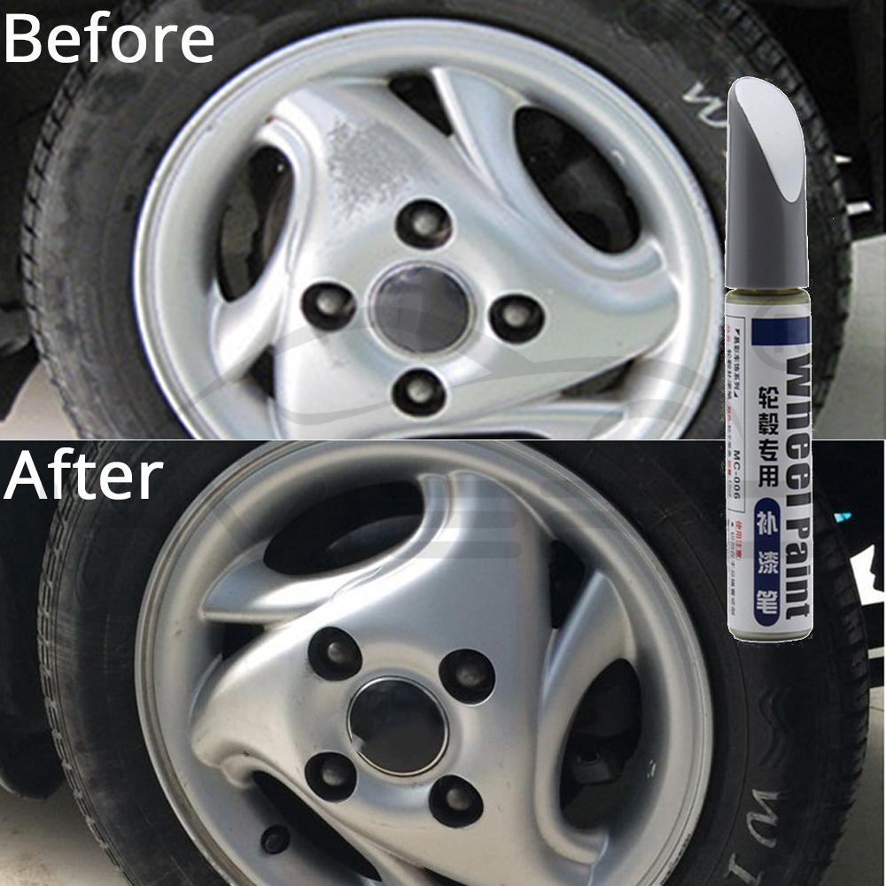 Car Paint Scratch Repair Pen Wheel Touch Up Paint Cleaner Painting Pens Marker Pen Brush Paint Car Tyre Tread Care Spray Paint 3