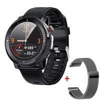 Vwar 360*360 piksel ekran akıllı saat erkekler IP68 su geçirmez ekg PPG spor saatler kan basıncı kalp hızı spor SmartWatch