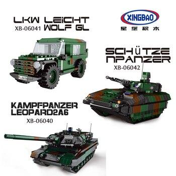 XingBao New Military Series Building Blocks Bricks Model Kit Educational Toys for Children Gift