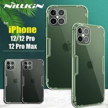 Appleのiphone 5 12 プロマックス/12 プロ/12 ケースnillkinクリアtpu電話ケースシリコーンカバーnilkin iPhone12 ためプロマックス