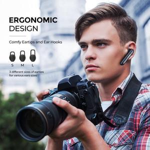 Image 5 - سماعات أذن لاسلكية Mpow EM17 سماعة أذن مزودة بتقنية البلوتوث مع خاصية إلغاء الضوضاء بميكروفون مزدوج مع تصميم تجاري