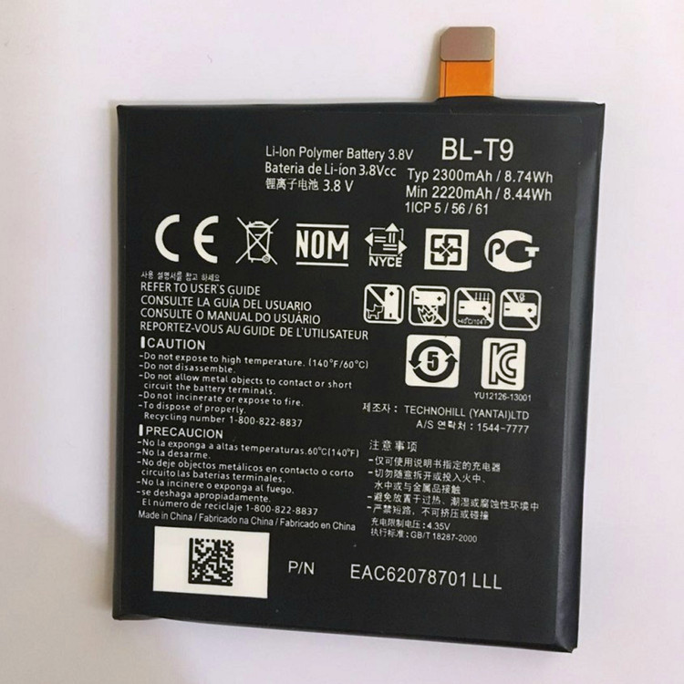 Lowest Replacement Battery BLT9 <font><b>BL</b></font>-<font><b>T9</b></font> battery For <font><b>LG</b></font> Google Nexus 5 / D820 / D821 / Nexus5 Phone Battery <font><b>t9</b></font> image
