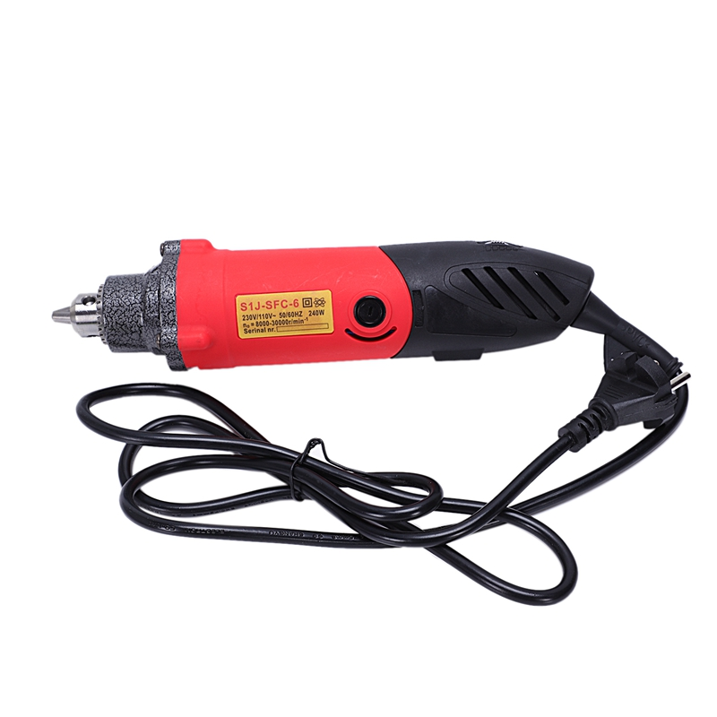 New Eu Plug,240W Electric Mini Drill For Style Rotary Power Tool Engraver Drilling Machine Grinder Abrasive Home Diy Tool