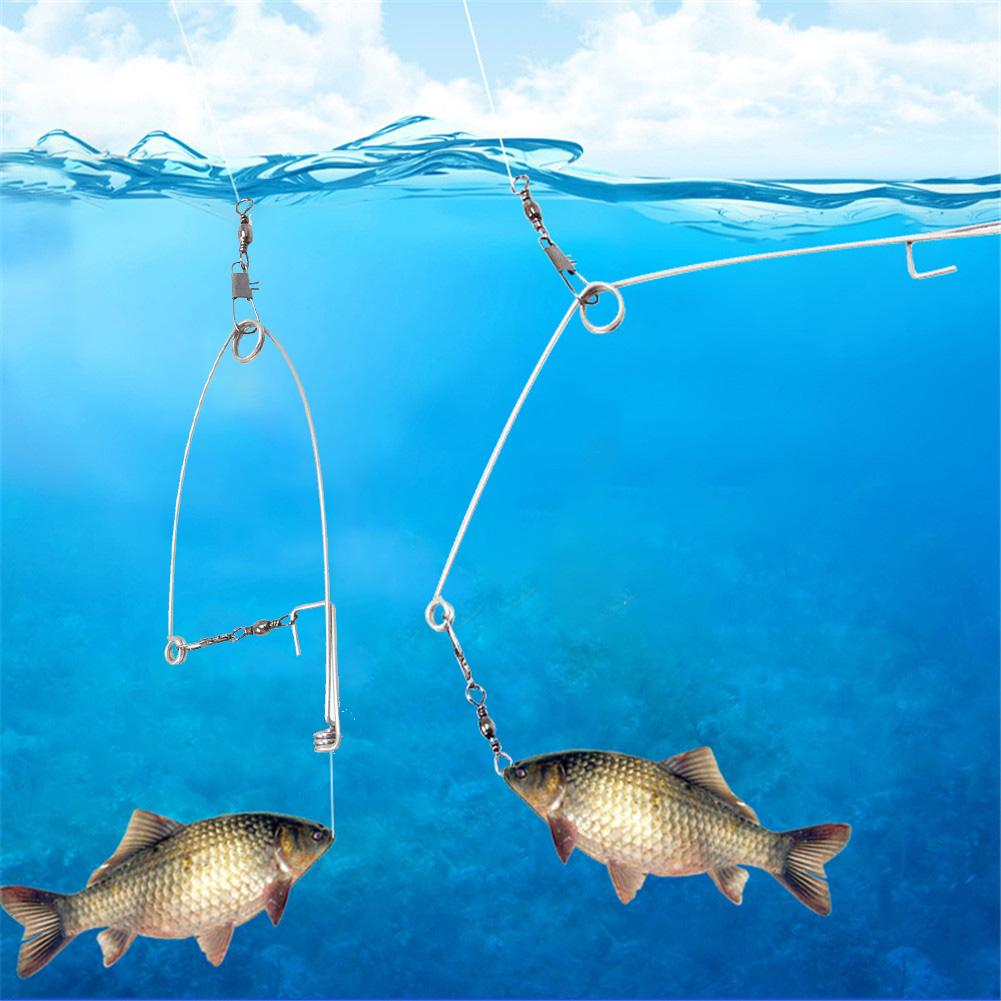 New Fishing Hook Automatic Fishing Device Fishing Accessories Lazy Person Universal Full Speed All The Water Drop Shipping