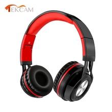 цена New Wireless Headphones Bluetooth Headset Foldable Headphone Adjustable Gaming Earphones With Microphone For PC mobile phone Mp3 онлайн в 2017 году