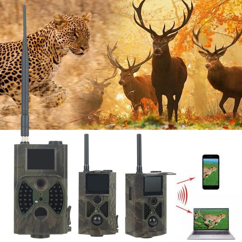 12MP 1080P охотничья камера высокого качества, Охотничья камера для дикой природы s HC300M, цифровая ИК камера разведки, инфракрасное видео GPRS GSM