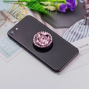 Image 5 - Phone Holder Stand Grip Universal Expanding Bracket For iPhone Samsung A50  Quicksand Glitter Support Suporte  Uchwyt Na Telefon
