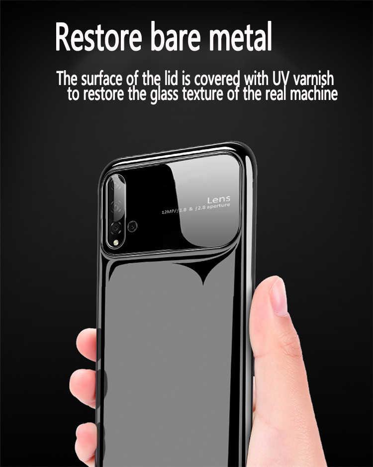 Plastik Shell untuk Huawei P20 30 40 Pro P20 30 40 Lite Mewah Case Mate 20 30pro Ultra Tipis jatuh Cover 360 Sekitarnya Shell