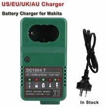 Battery Charger for Makita 6010D 6261D 6226DWE 6270D 6270DWE 6271D 6271DWE Replacement Charger 7.2V 9.6V 12V 14.4V 18V Plug