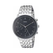 цена на Fossil Watch Men Chase Timer Chronograph 42mm Black Dial Quartz Watch Men Wrist Watch with Stainless Steel FS5489