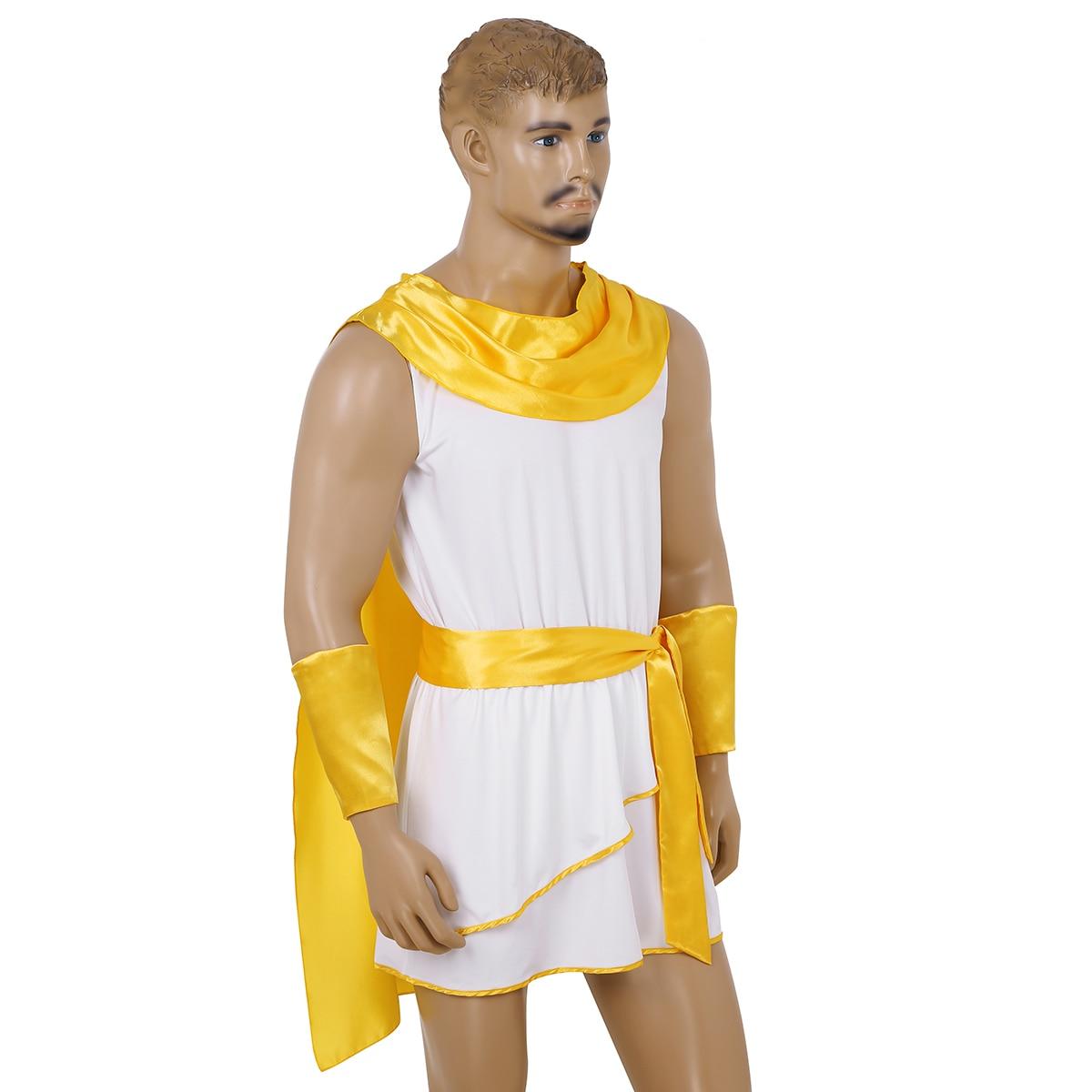 Men/'s Deluxe Classic Toga Roman Greek Adult Costume