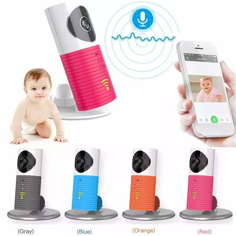 Wifi Baby Monitor IR Night Vision Babysitter Infant Intercom PIR Motion Detection Wifi Security 720p IP Camera Sleep Alert