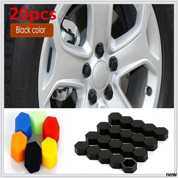 17/19/21mm Silicone Socket car Wheel Hub Screw Cover Nut Cap Protection for Honda City OSM FC Small PUYO Element Step REMIX CRV image