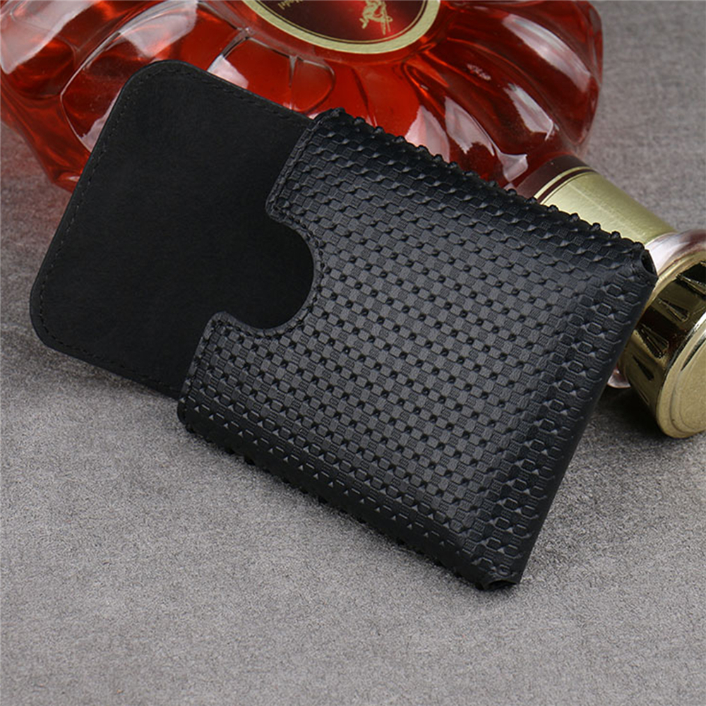 PU Leather Anti-fall Phone Bag Pouch Case for Samsung Galaxy Z Flip Phone Accessories Portable Full Cover Protective Bag